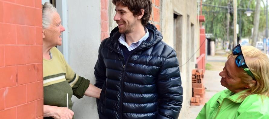 """Juan Andreotti recorrió Villa Federal: """"Que nos reciban bien nos da fuerzas para continuar"""""""