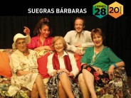 """La comedia """"Suegras Bárbara's"""" se presenta en el Teatro Martinelli"""