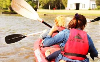 Se realizó la 'Travesía de la Primavera', primera experiencia en kayak por el río Luján