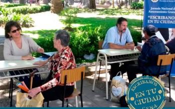 Jornada de asesoramiento gratuito a cargo de escribanos en la Biblioteca Madero