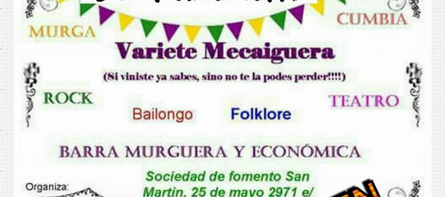 Varieté Mecaiguera en la Sociedad de Fomento San Martín