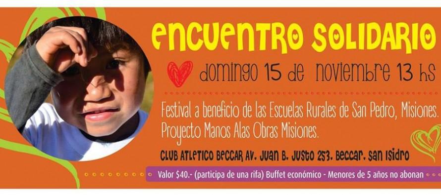 Festival solidario a beneficio de escuelas rurales de Misiones