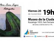 """Elvira Lovera Laspiur expondrá su """"Retrospectiva"""" en el Museo de la Ciudad"""