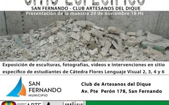 Seminario y exposición de la Universidad Nacional de las Artes en el Club Artesanos del Dique