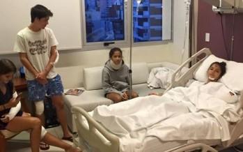 Novedades sobre los cinco jóvenes que sufrieron el violento accidente en Sarmiento y Libertador