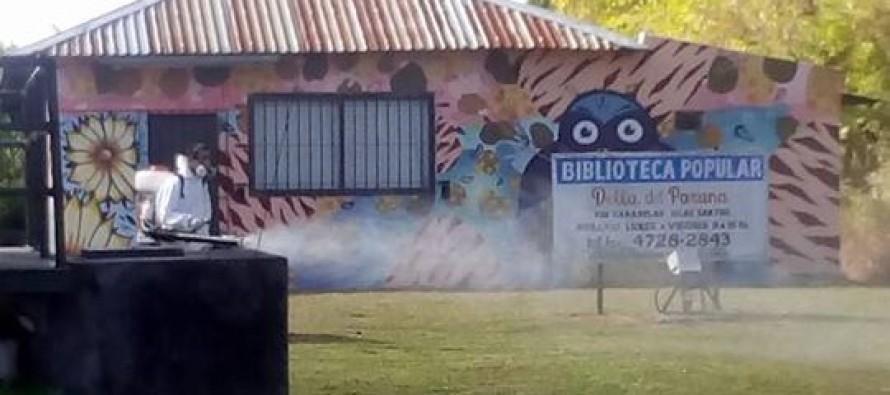 Dengue: operativos de fumigación en Islas