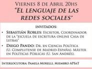 """""""El lenguaje de las redes sociales"""", charla gratuita en el Colegio de Psicólogos"""