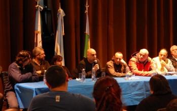 La CTA y CGT zona norte brindaron una conferencia de prensa sobre la movilización de hoy