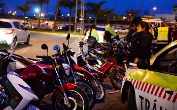 Operativos de control vehicular: se detectaron irregularidades en autos y motos