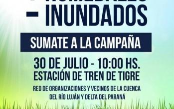 """Defensa de humedales: hoy se lanza la campaña """"+ humedales – Inundados"""""""