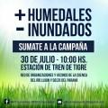 + Humedales - Inundados