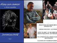 """Jeremías Wolf presenta """"Alas sin amor"""" en la Quinta El Ombú"""