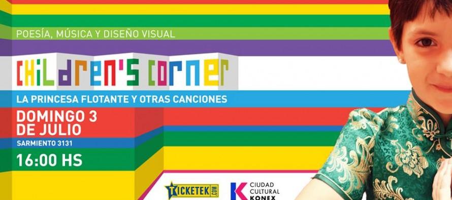 Children´s corner: música indie para chicos de la mano de una sanfernandina