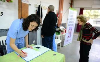 Controles y talleres de salud en los Centros de Jubilados