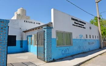Se prevén mejoras en las Escuelas N°20 y N°28 en el barrio San Jorge