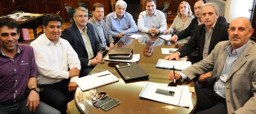 Andreotti y otros intendentes se reunieron con Ritondo por el tema seguridad