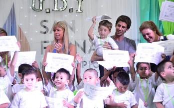 En el Poli N°6 se celebró el fin de ciclo de las Unidades de Desarrollo Infantil
