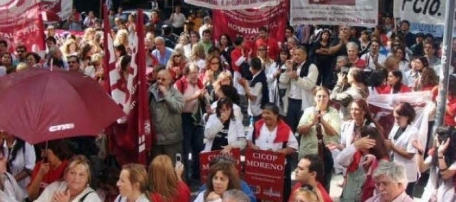 El miércoles habrá paro de médicos bonaerenses