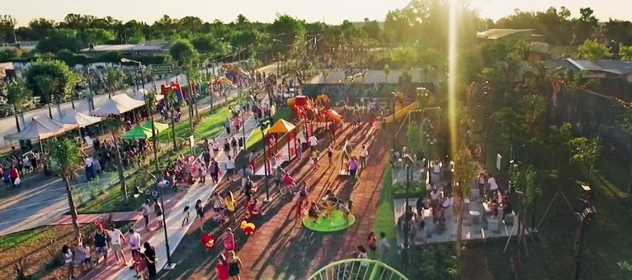 En Victoria Oeste se inauguró el parque más grande de nuestra ciudad