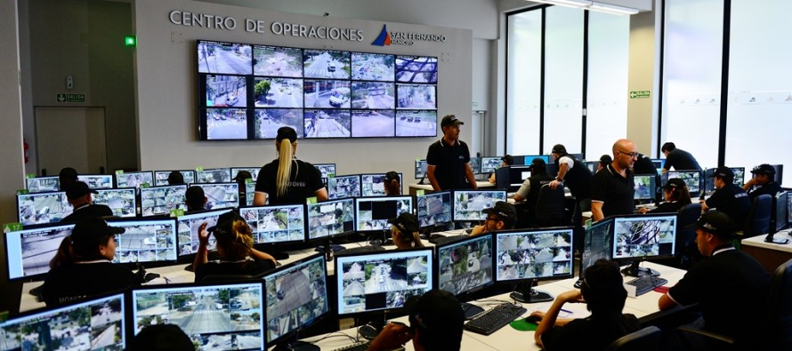 Se amplía el Centro de Operaciones con más cámaras y puestos de trabajo