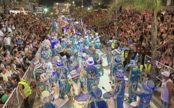 Nueve murgas y show de samba en la segunda noche del Gran Corso Familiar