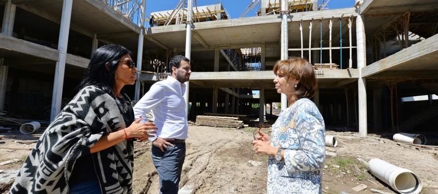 Nueva etapa en la construcción del Hospital Municipal en Virreyes