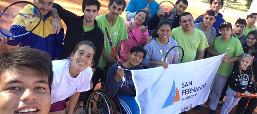 La Escuela de Tenis participó del Torneo Interescuelas de zona norte