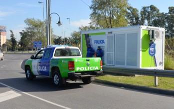 Nuevas postas policiales en 202 y Panamericana, en 202 y Colectora y en Alvear y Servetto