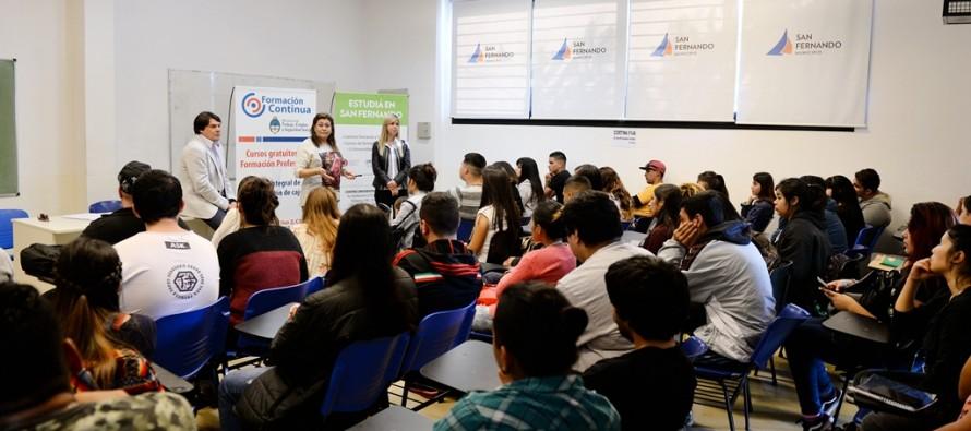 Cursos gratuitos de formación profesional en el Centro Universitario Municipal