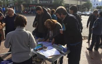El Frente para la Victoria lanzó una campaña para bajar las tasas municipales