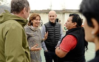 Se realizan trabajos de mejora en la Escuela de Fútbol 'San Jorge'