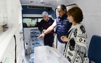 Nueva ambulancia especializada en neonatología