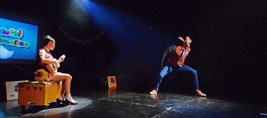 Se presentó la obra de teatro infantil 'Vale Hacer Lío' en el Teatro Martinelli