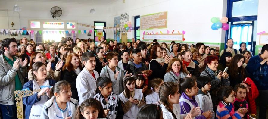 La Escuela N° 8 celebró su 130° aniversario