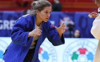 Pareto ganó la medalla de plata en Budapest en su regreso al judo tras 14 meses