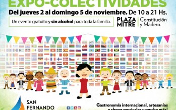 La Expo Colectividades vuelve a plaza Mitre
