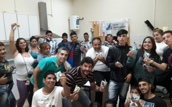 Los chicos del Centro Convivencial Terapéutico festejaron las pascuas
