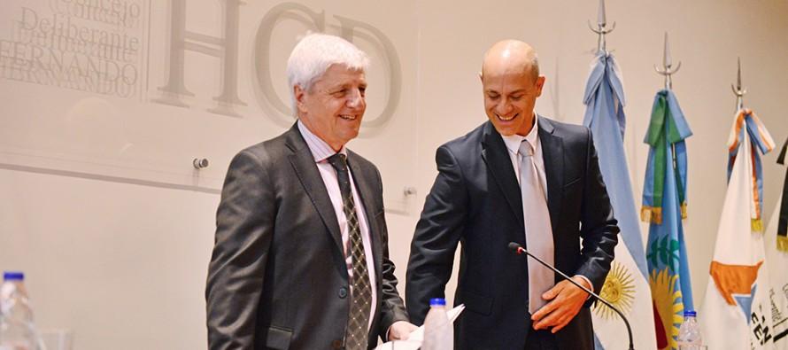 Luis Andreotti dio apertura a las sesiones ordinarias del Concejo Deliberante