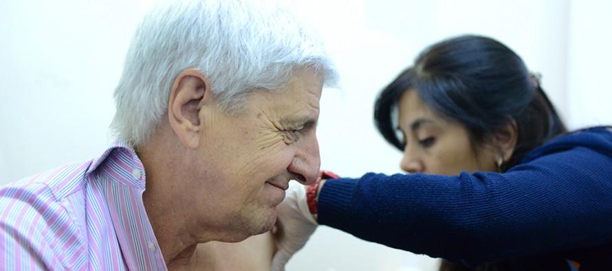 Comenzó la campaña de vacunación antigripal para todos los grupos de riesgo