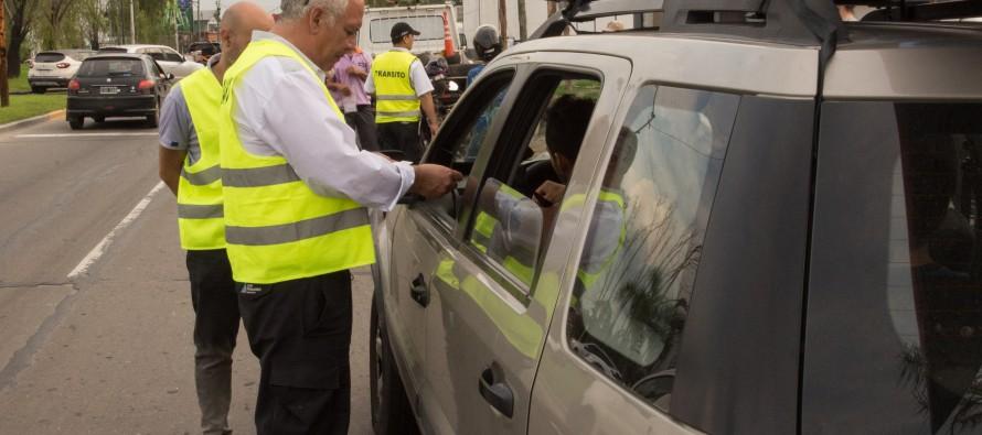 Continúan los operativos de control vehicular en nuestra ciudad