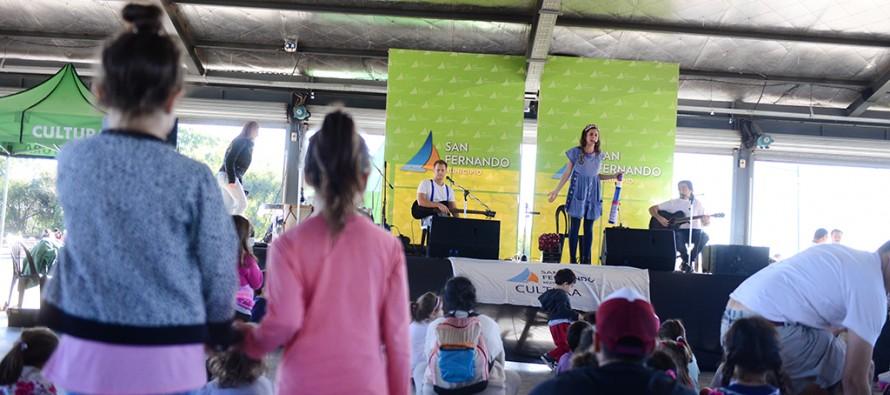 Se realizó el Festival 'Con Aires de Río' en el Parque Náutico
