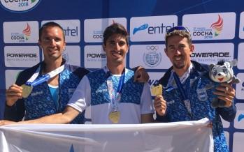 Medallas de oro para cuatro remeros de nuestra ciudad en los Juegos ODESUR