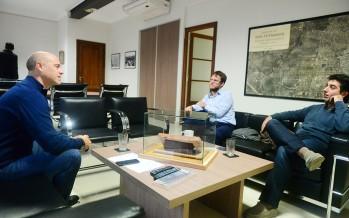 Santiago Aparicio recibió a concejales de ConVocación por San Isidro
