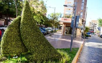 Continúa la renovación de cuadras en los centros comerciales de nuestra ciudad