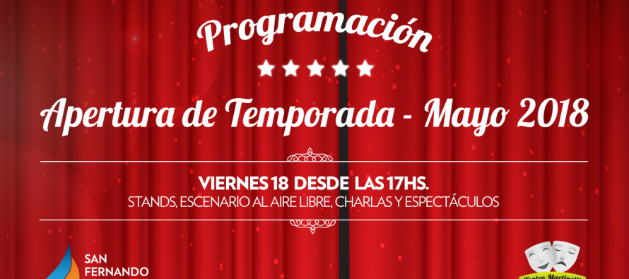 El Teatro Martinelli inaugura la temporada 2018