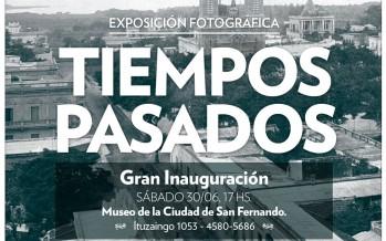 Hoy se inaugura la exposición fotográfica 'Tiempos Pasados' en el Museo de la Ciudad