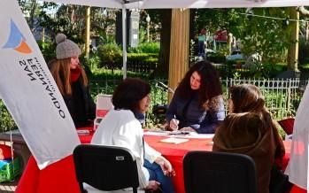 Operativo en Plaza Mitre por el Día del Testeo Rápido de VIH