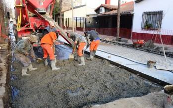 Se renovó la calle Belgrano en su recorrido del casco histórico
