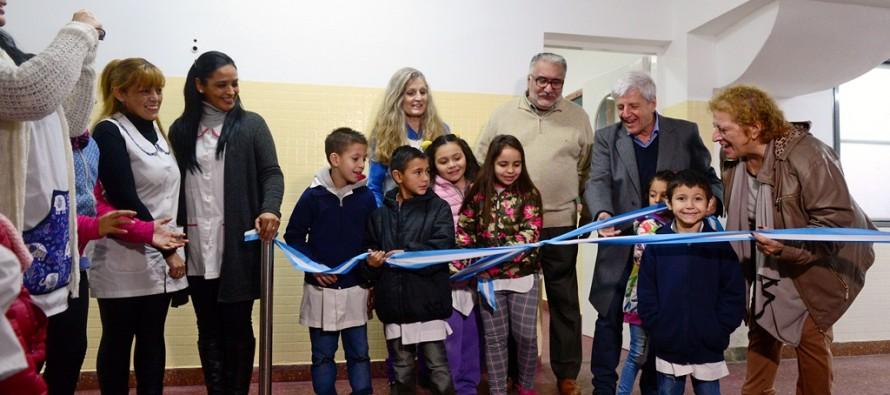 Inauguraron la renovación de la Escuela N° 32