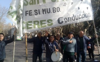 Trabajadores municipales marcharon por el centro de nuestra ciudad en reclamo de mejoras laborales